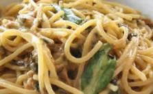 Ricetta spaghetti con zucchine